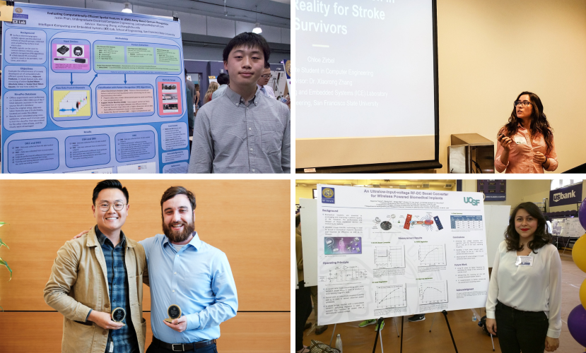 CSU Research Competition winners