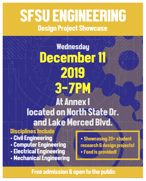 SFSU Engineering - Design Project Showcase